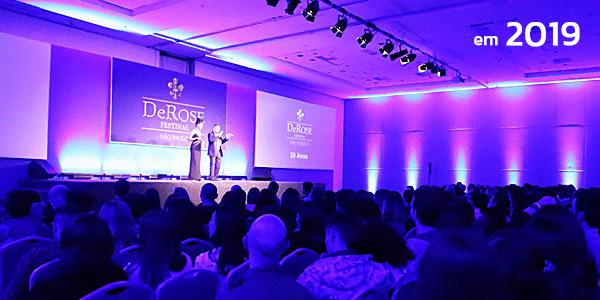 DeROSE Festival São Paulo em 2019